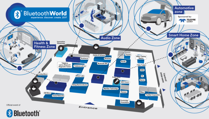 Come Visit the Bluetooth World Zones at Bluetooth World (sponsored)