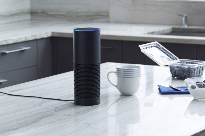 - amazon echo e1493386698372 - Why the market for smart speaker apps can't possibly rival that of smartphones yet – Stacey on IoT