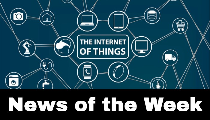 IoT news of the week for June 8, 2018