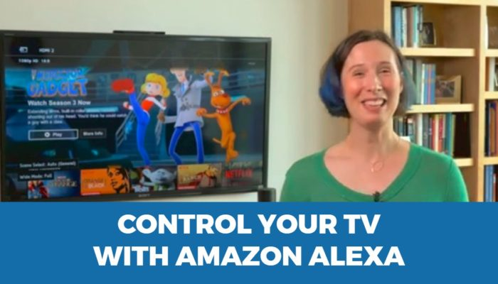 Control your TV from Amazon Alexa or Google Home