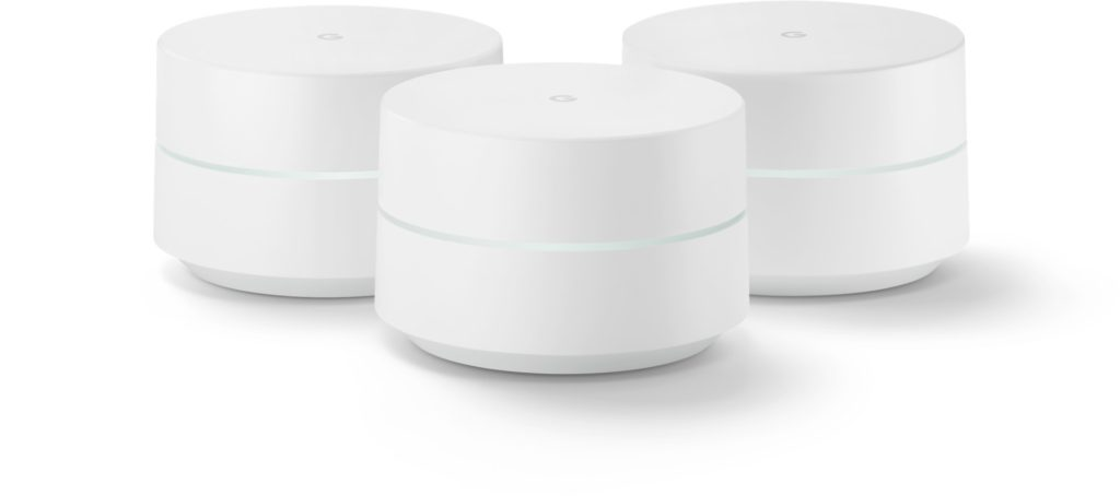 - google wifi press 1024x454 - Is Mistral a next-gen mesh network Google Home Hub with ZigBee, or maybe even Thread? – Stacey on IoT