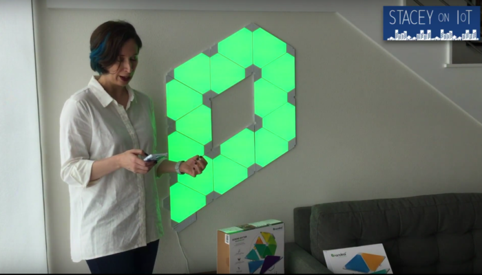 Nanoleaf: Check out this connected art for your wall