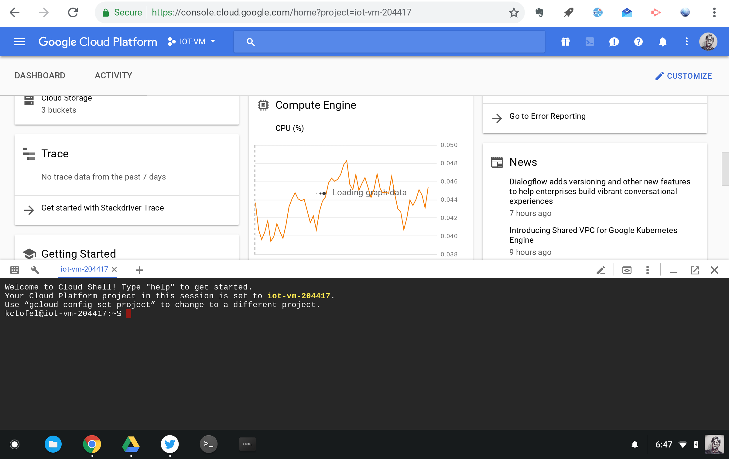 How We Moved An Iot Code Project From A Raspberry Pi To Google Cloud Falstad Online Circuit Simulator Screen Shot Design And Innovation Shell
