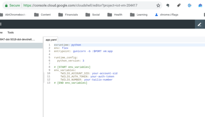 How we moved an IoT code project from a Raspberry Pi to Google Cloud