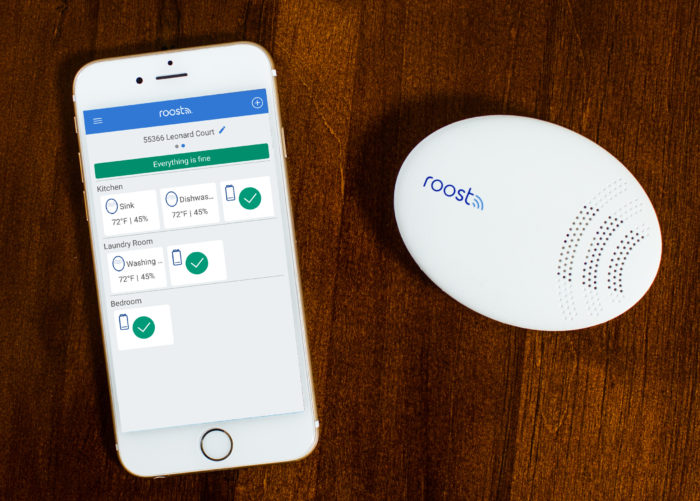 - Roost Smart Water and Freeze Detector and Smartphone e1528467052529 - Why insurance firms are stalling on IoT – Stacey on IoT