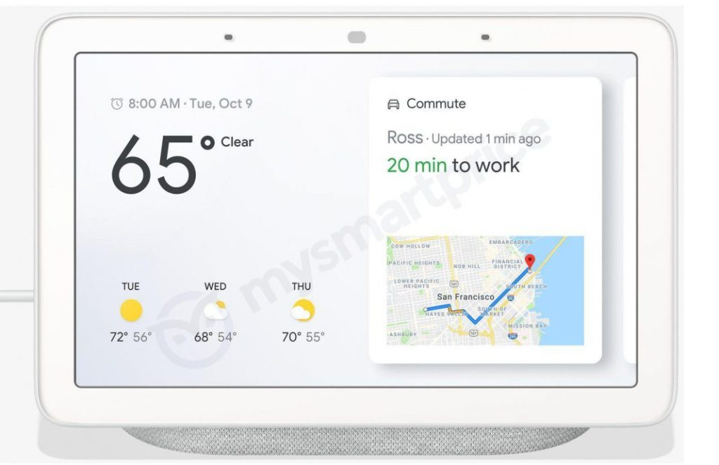 - Google Home Hub Leak Front1 1068x692 1024x663 - The Google Home Hub isn't the hub I'm looking for – Stacey on IoT