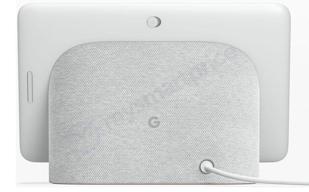 - Google Home Hub Leak back 1024x638 - The Google Home Hub isn't the hub I'm looking for – Stacey on IoT